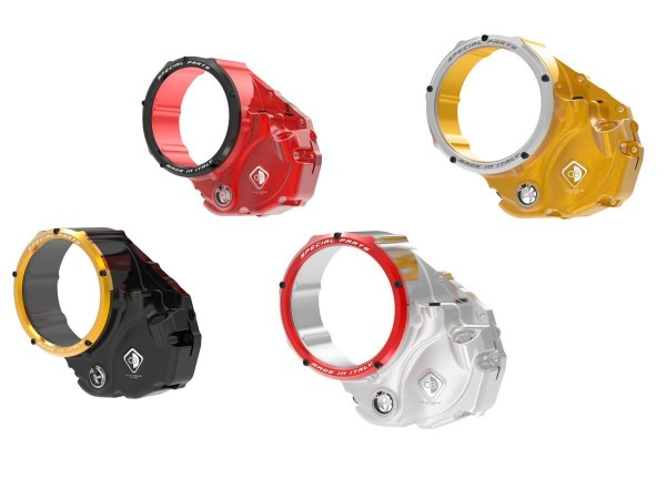 DUCABIKE Clutch Cover CLEAR CCDV06 3D Evo for Multistrada and XDiavel