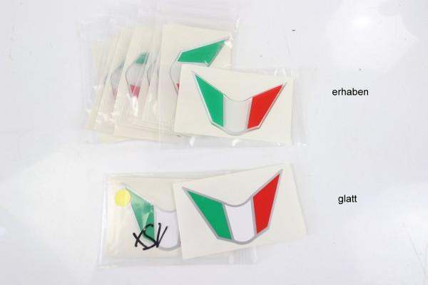Aufkleber Tricolore Frontverkleidung 848/1098