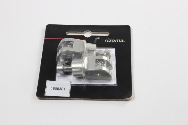 Rizoma Rasten Adapter für Touring Fahrer Rasten