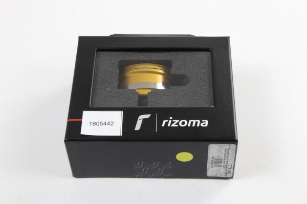 Rizoma Flüssigkeitsbehälter Next für hinten in Gold