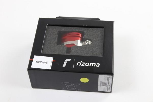 Rizoma Flüssigkeitsbehälter Next für hinten in Rot
